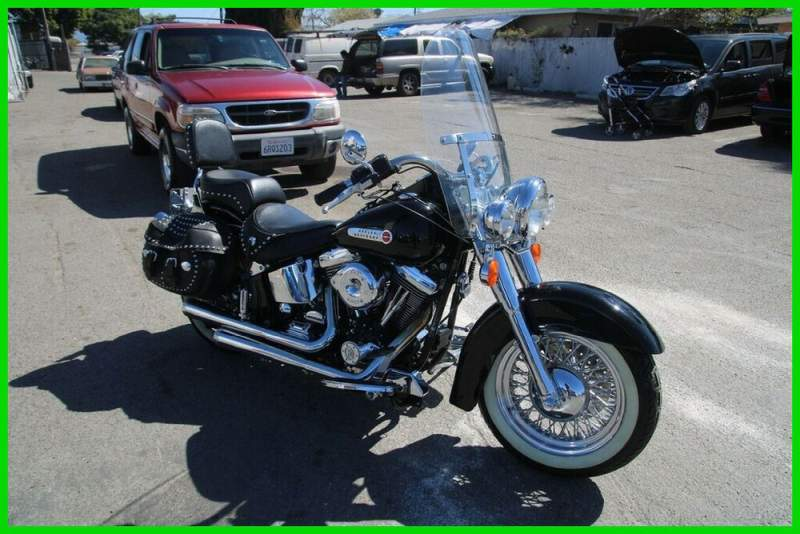 1997 Harley-Davidson Softail Black used for sale