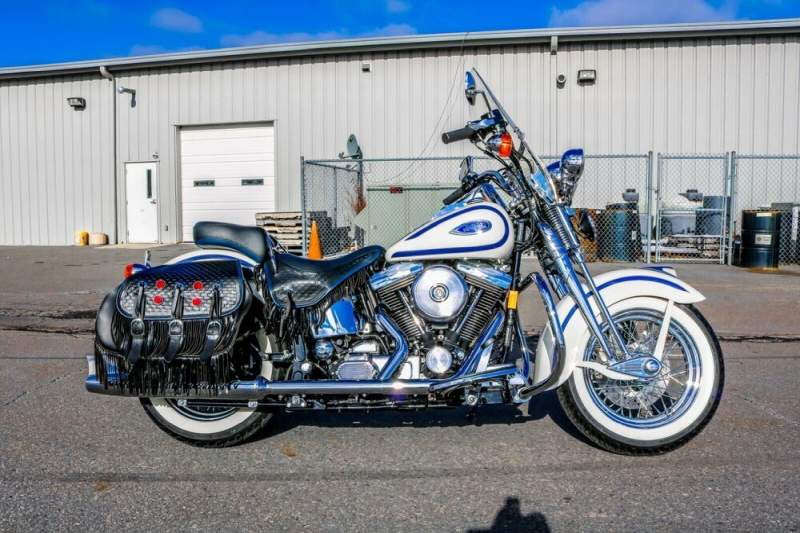 1997 Harley-Davidson Softail White used for sale craigslist
