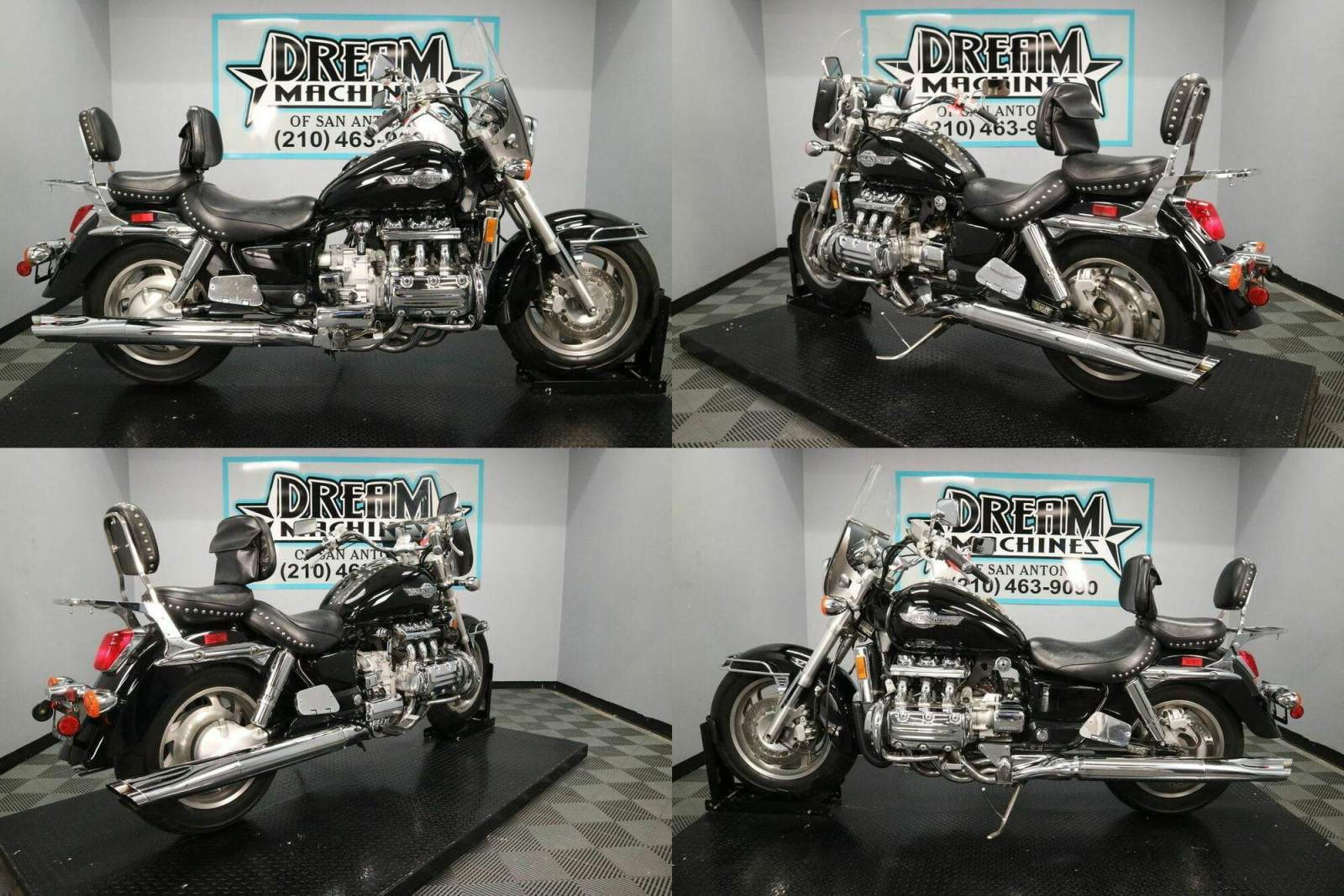 1998 Honda Gold Wing Valkyrie GL1500C Black used for sale craigslist