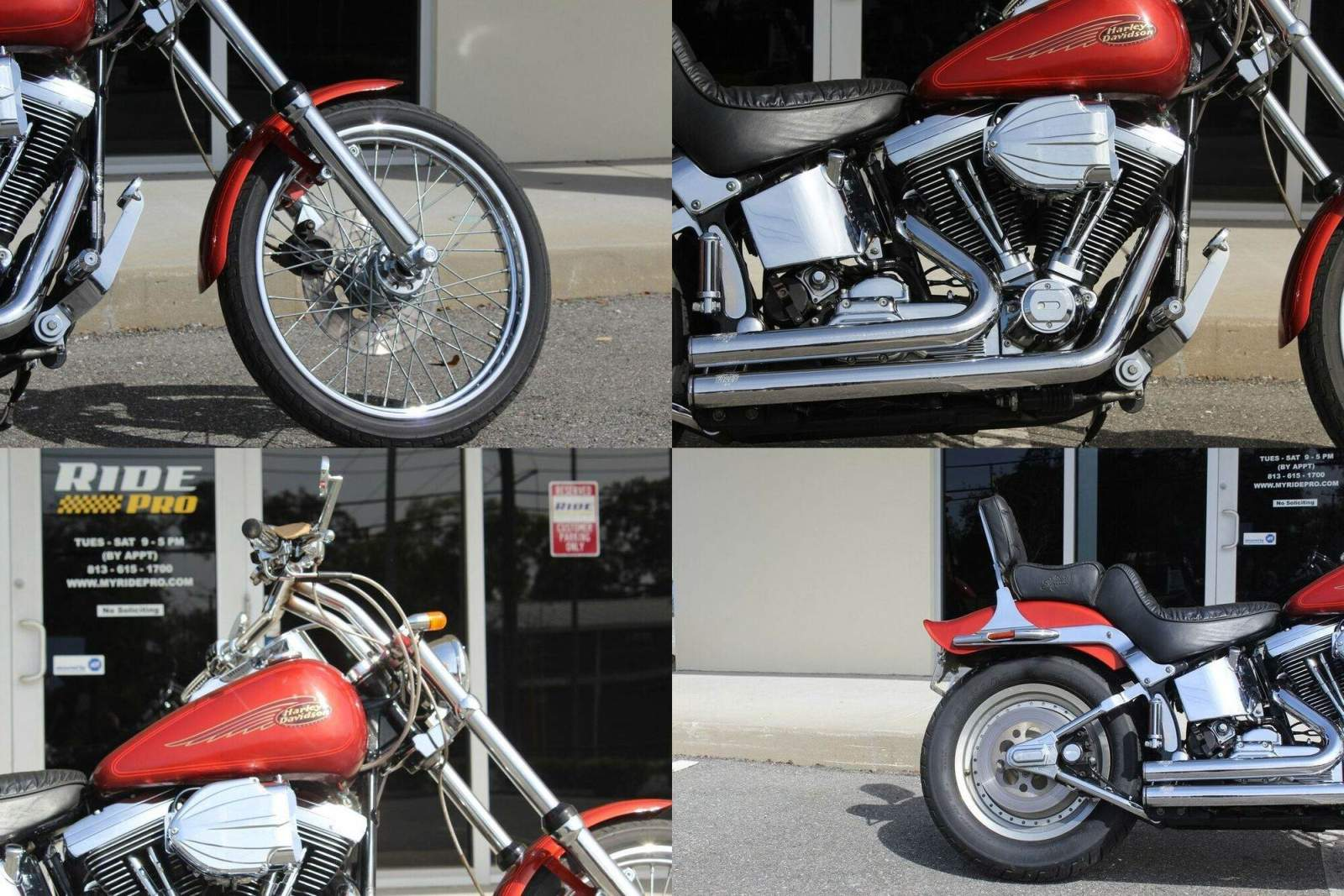 1999 Harley-Davidson Softail Softail® Custom Red used for sale craigslist