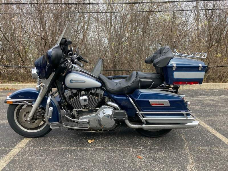 1999 Harley-Davidson Touring Blue used for sale