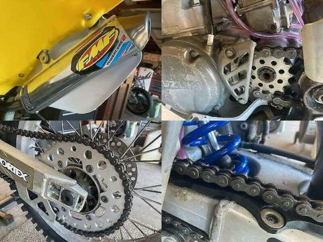 1999 Suzuki RM Yellow used for sale