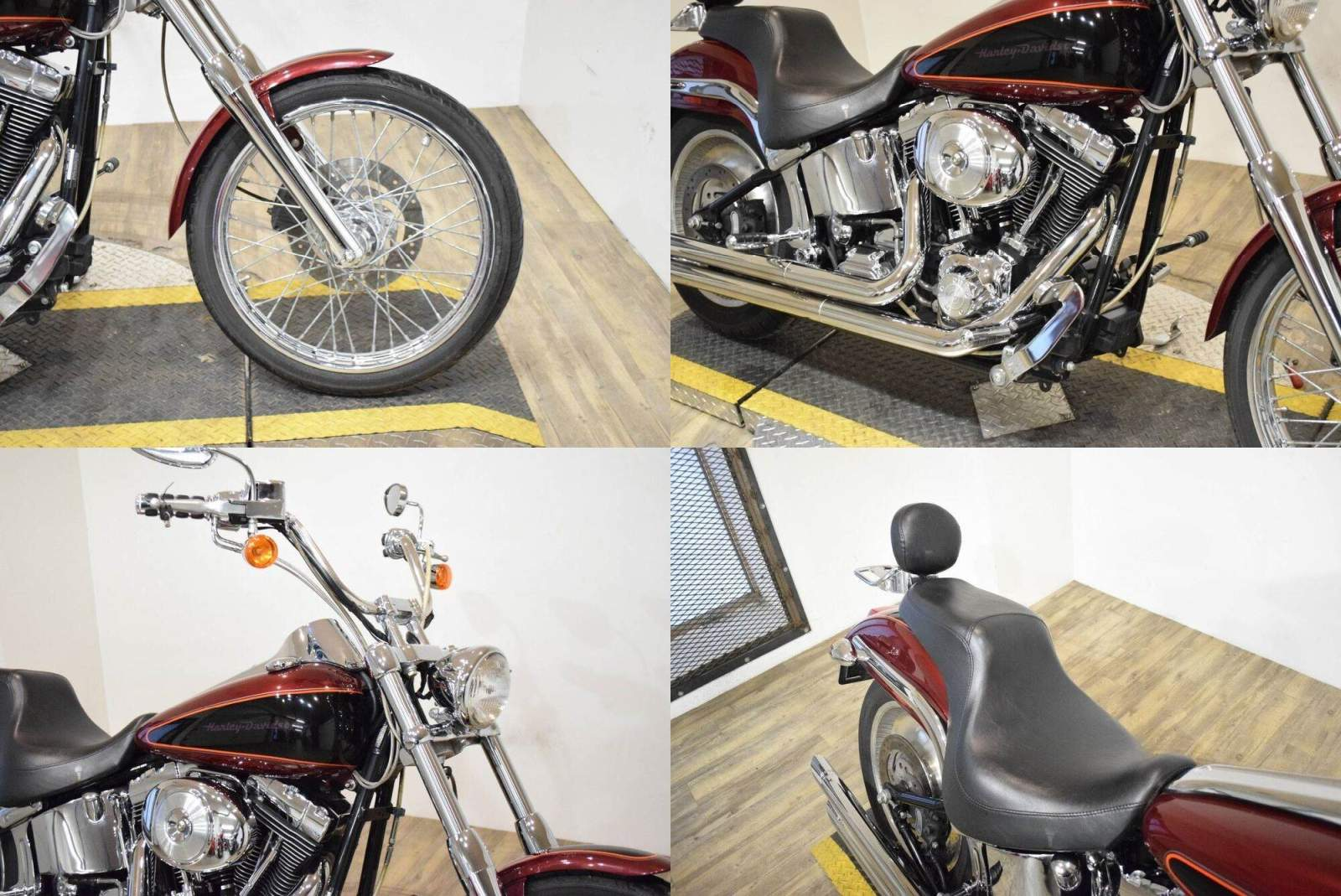 2000 Harley-Davidson Softail Deuce Red used for sale