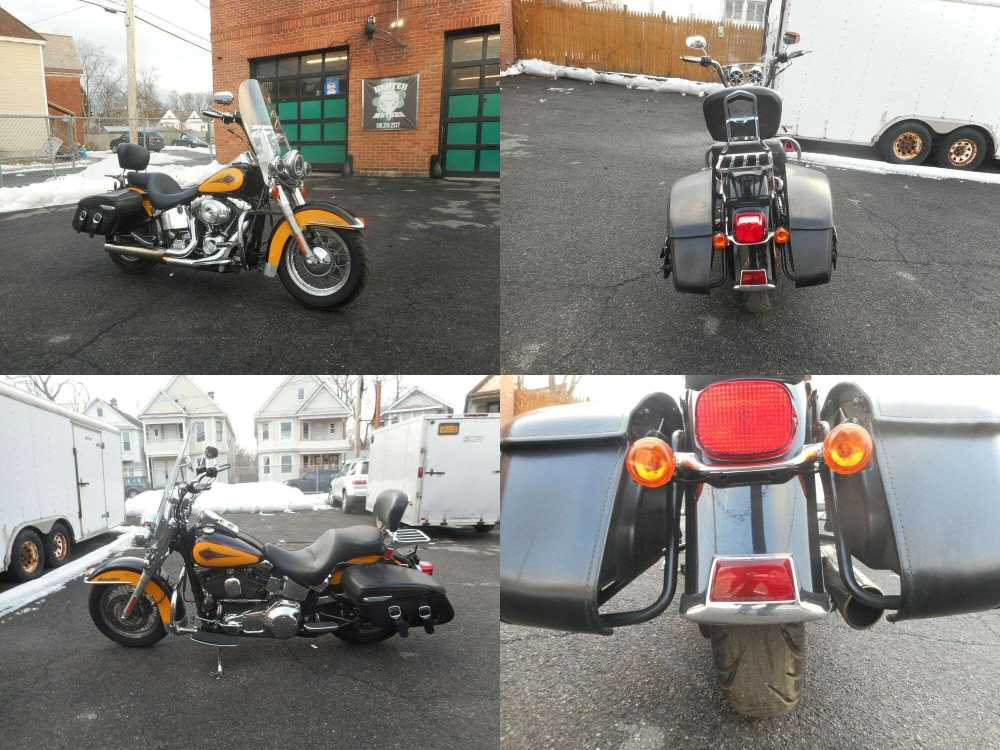 2000 Harley-Davidson Softail Yellow used for sale