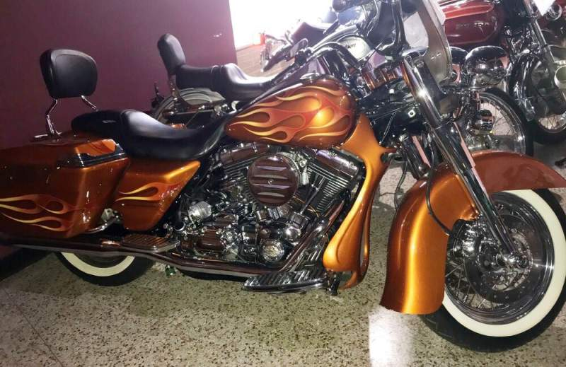 2000 Harley-Davidson Touring Bronze Copper used for sale