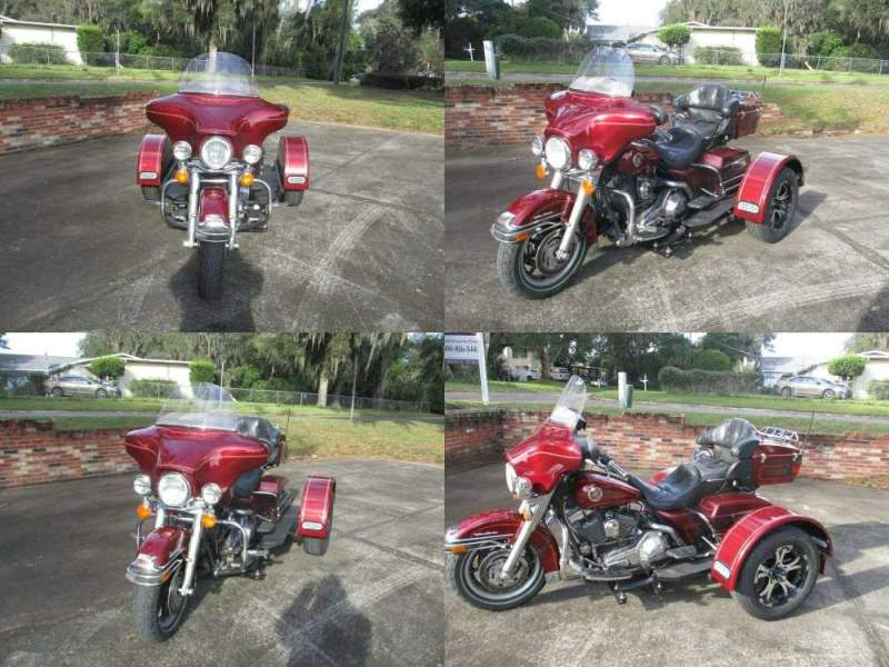 2000 Harley-Davidson ULTRA CLASSIC BURGUNDY used for sale
