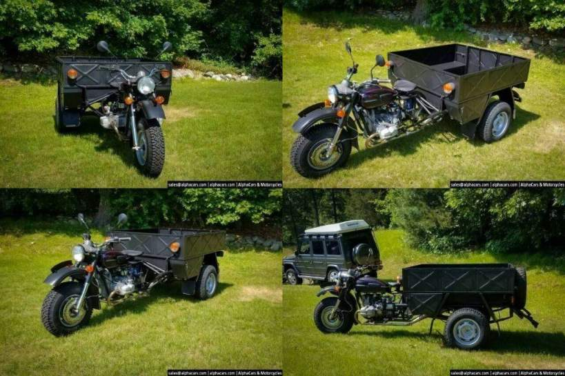 2000 Ural Workhorse Hercules (Ural IMZ 8.4013) Black used for sale near me