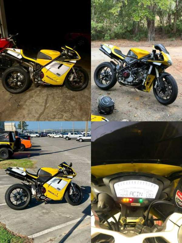 2001 Ducati Superbike Yellow used for sale craigslist
