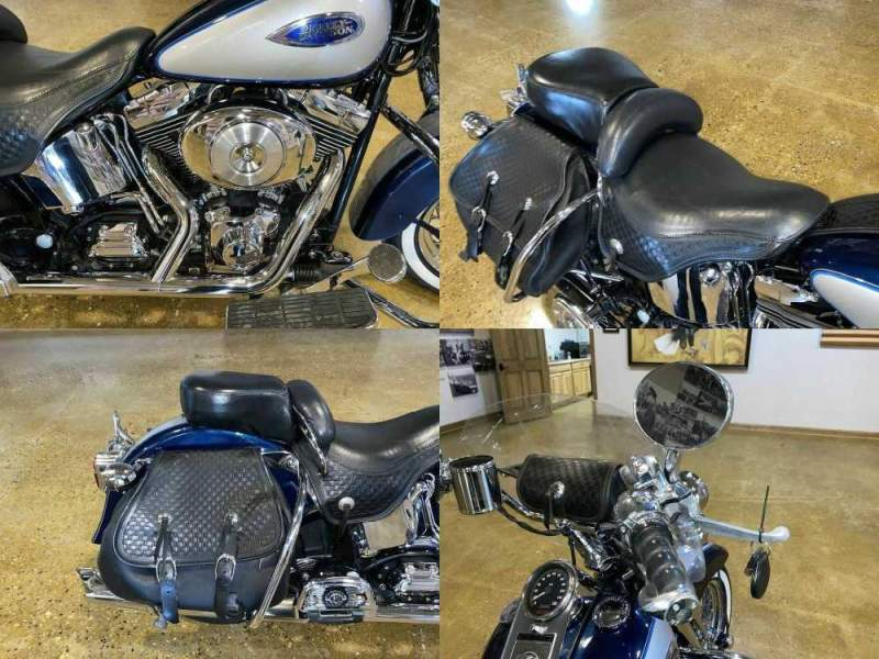 2001 Harley-Davidson FLSTS - Heritage Springer Softail® Blue used for sale craigslist