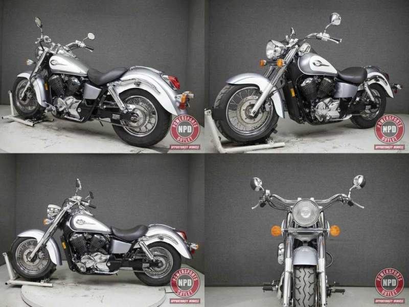 2001 Honda VT750 SHADOW 750 ACE DELUXE SLIVER/WHITE used for sale