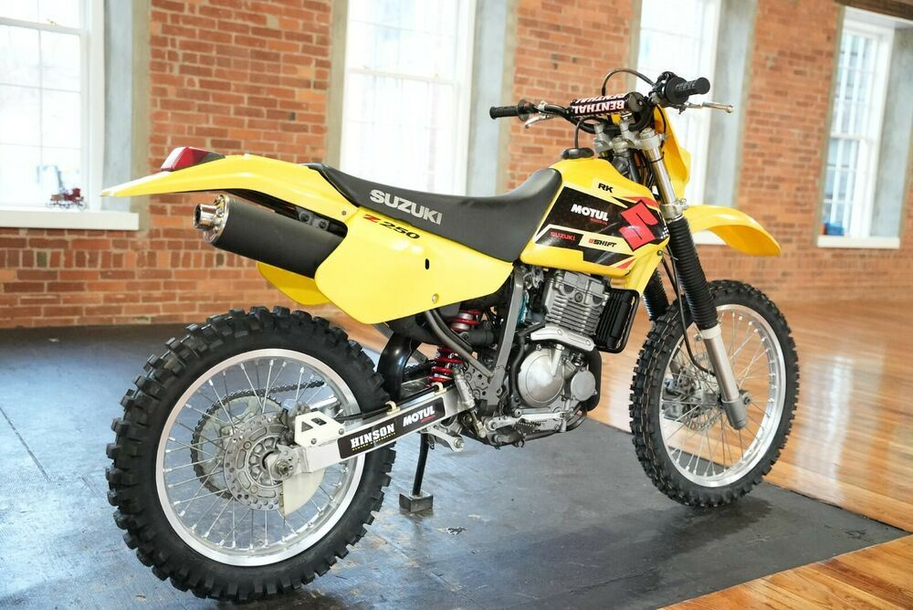 2001 Suzuki DR-Z Yellow used for sale