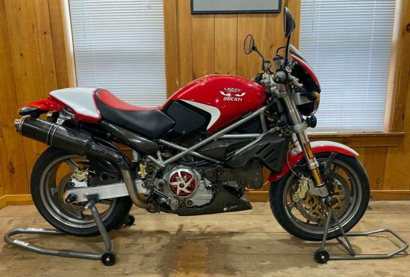 2002 Ducati Monster Red used for sale