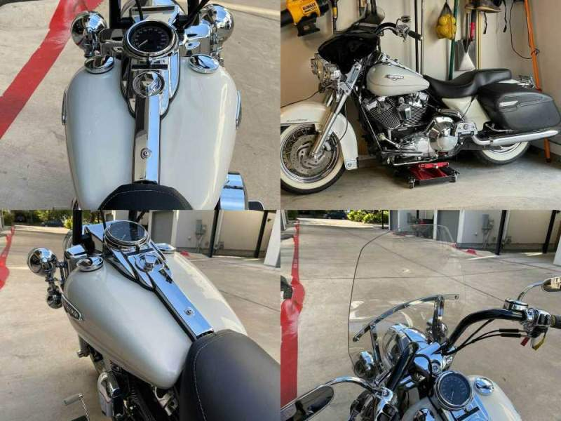 2002 Harley-Davidson FLHRCI White used for sale