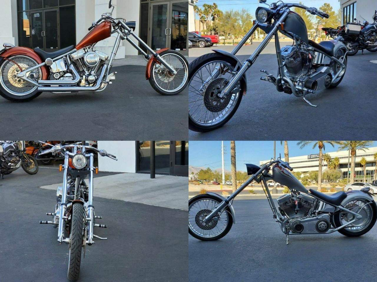 2003 Custom Built Motorcycles HARDTAIL CHOPPER -- used for sale
