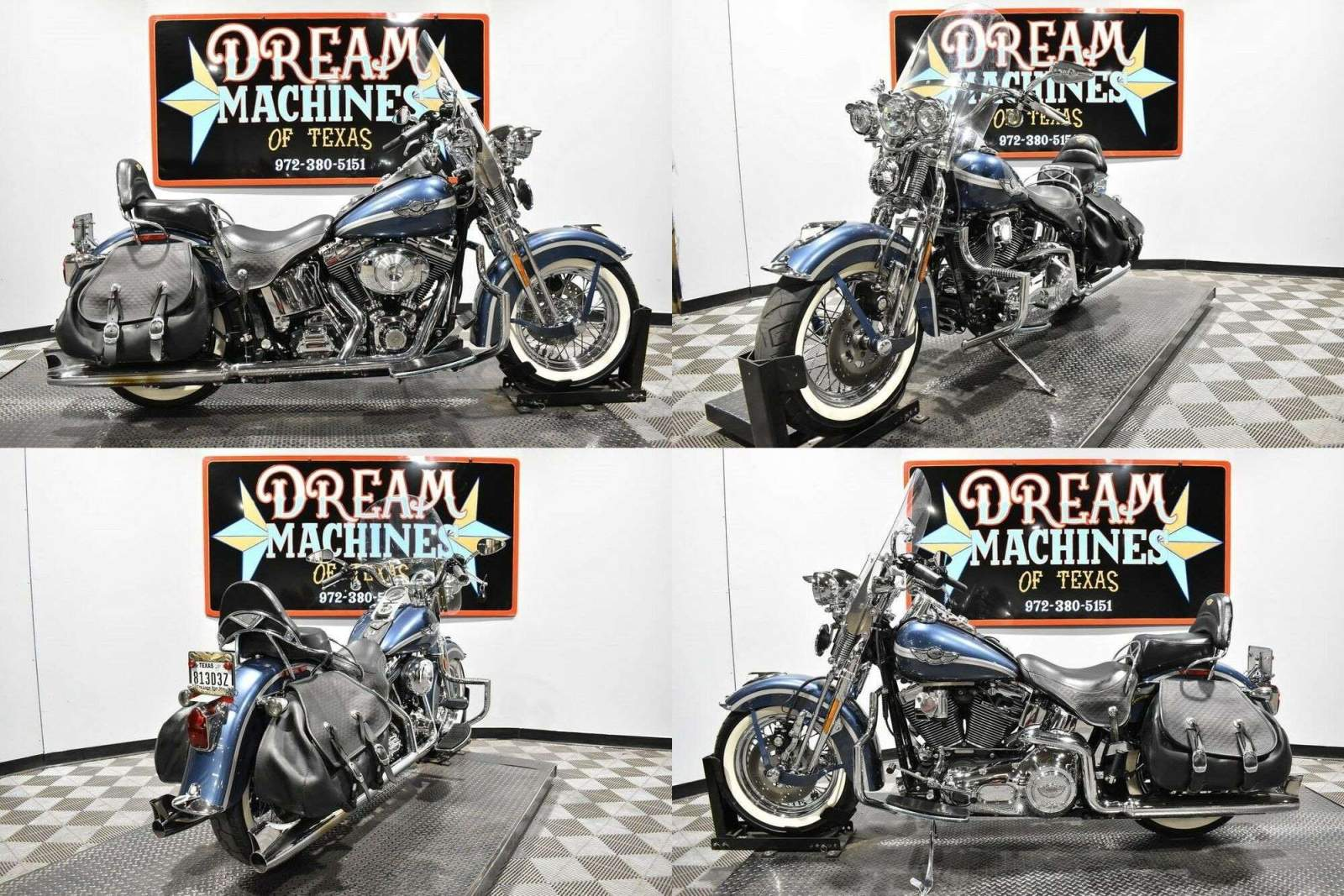 2003 Harley-Davidson FLSTS - Heritage Softail Springer 100th Anniversar Gray used for sale near me