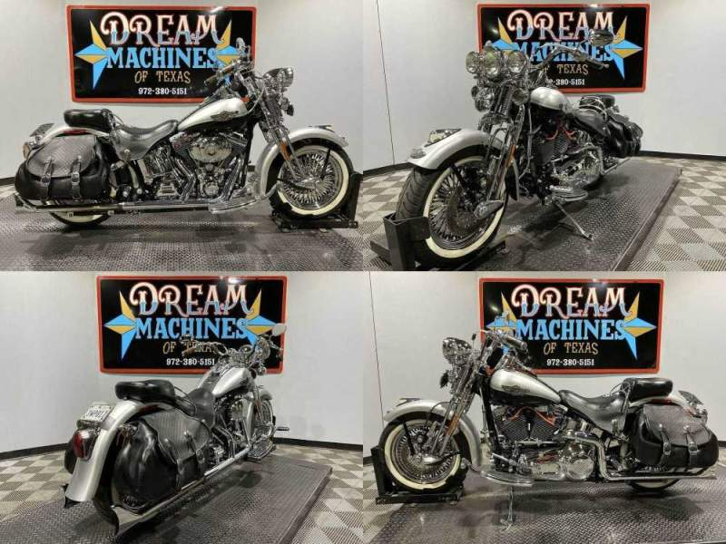 2003 Harley-Davidson FLSTSI - Heritage Springer Softail 100th Anniversa Silver used for sale craigslist