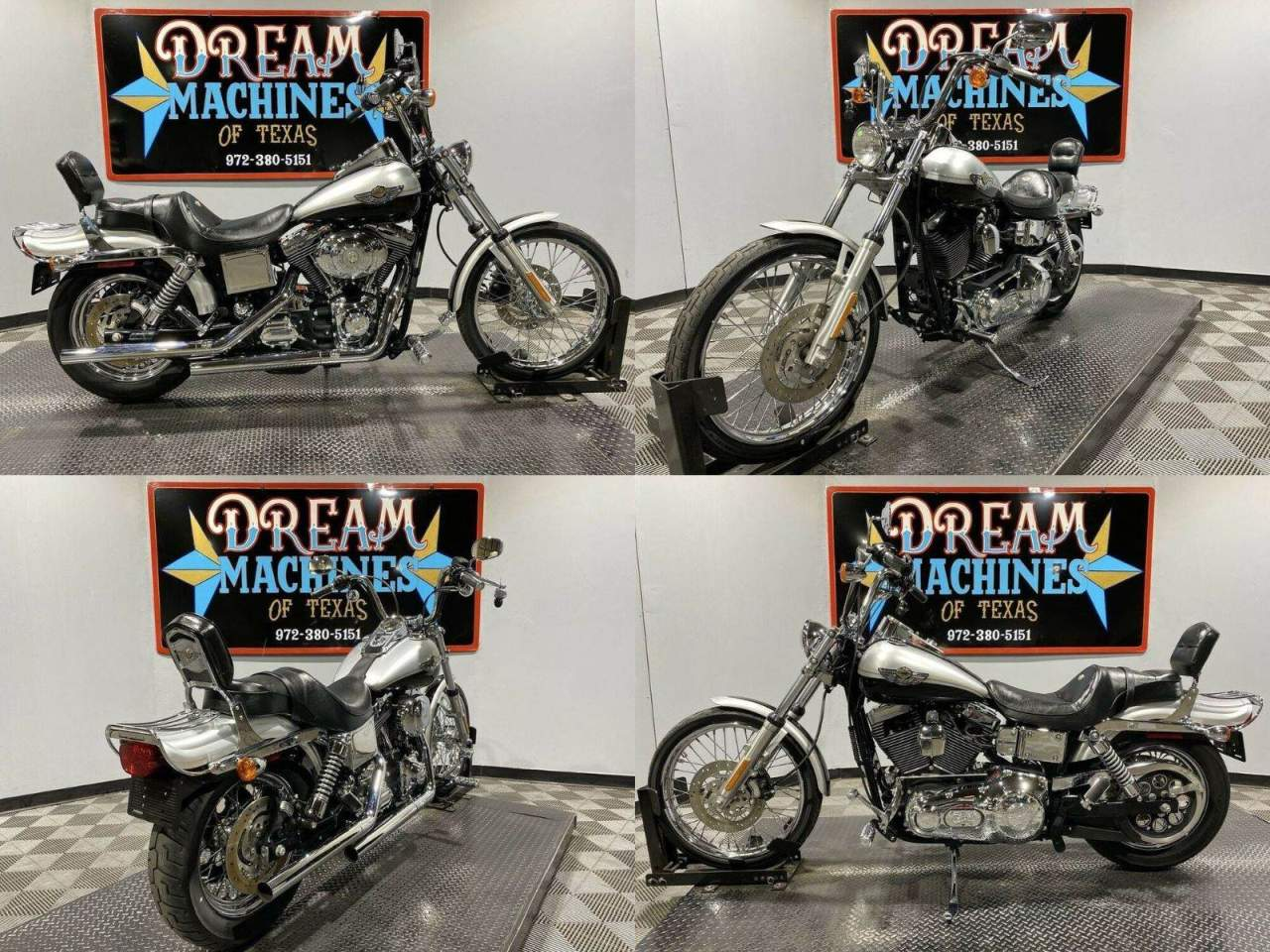 2003 Harley-Davidson FXDWG - Dyna Wide Glide 100th Anniversary Anniversary Siver used for sale near me