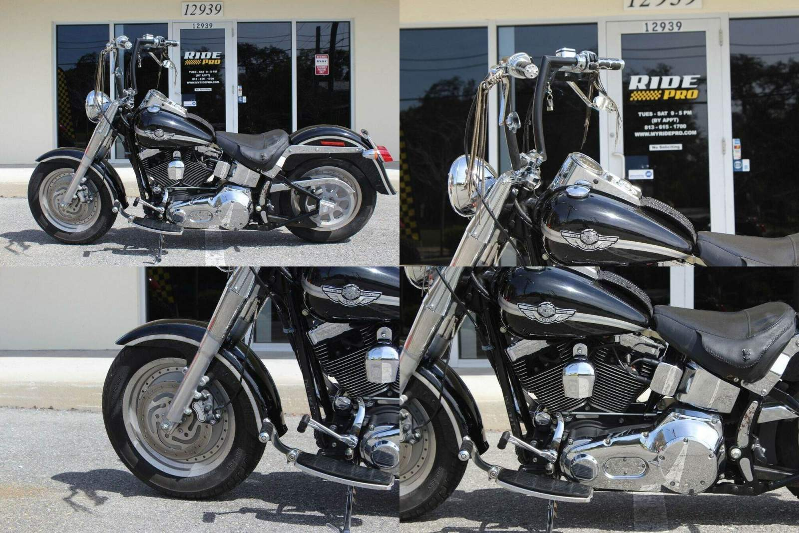 2003 Harley-Davidson Softail Fat Boy® Black used for sale craigslist