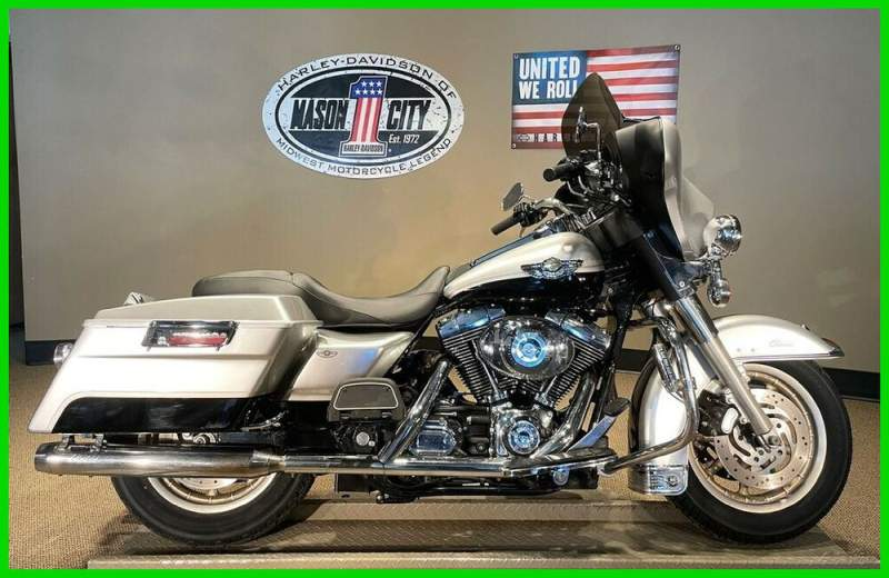 2003 Harley-Davidson Touring Electra Glide® Classic 100th Anniversary Silver & Black used for sale