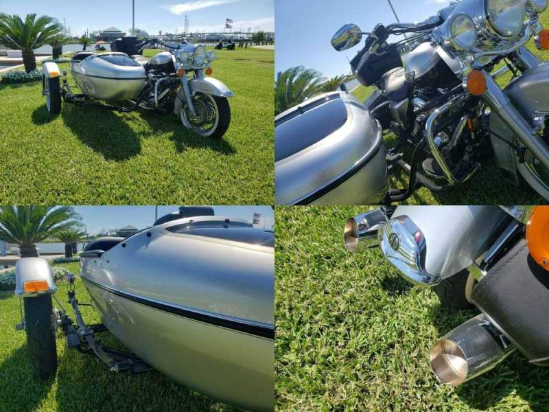 2003 Harley-Davidson Touring Silver used for sale near me