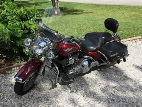 2003 Harley-Davidson Touring Burgundy used for sale craigslist