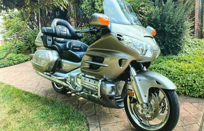 2003 Honda Gold Wing Gold used for sale craigslist