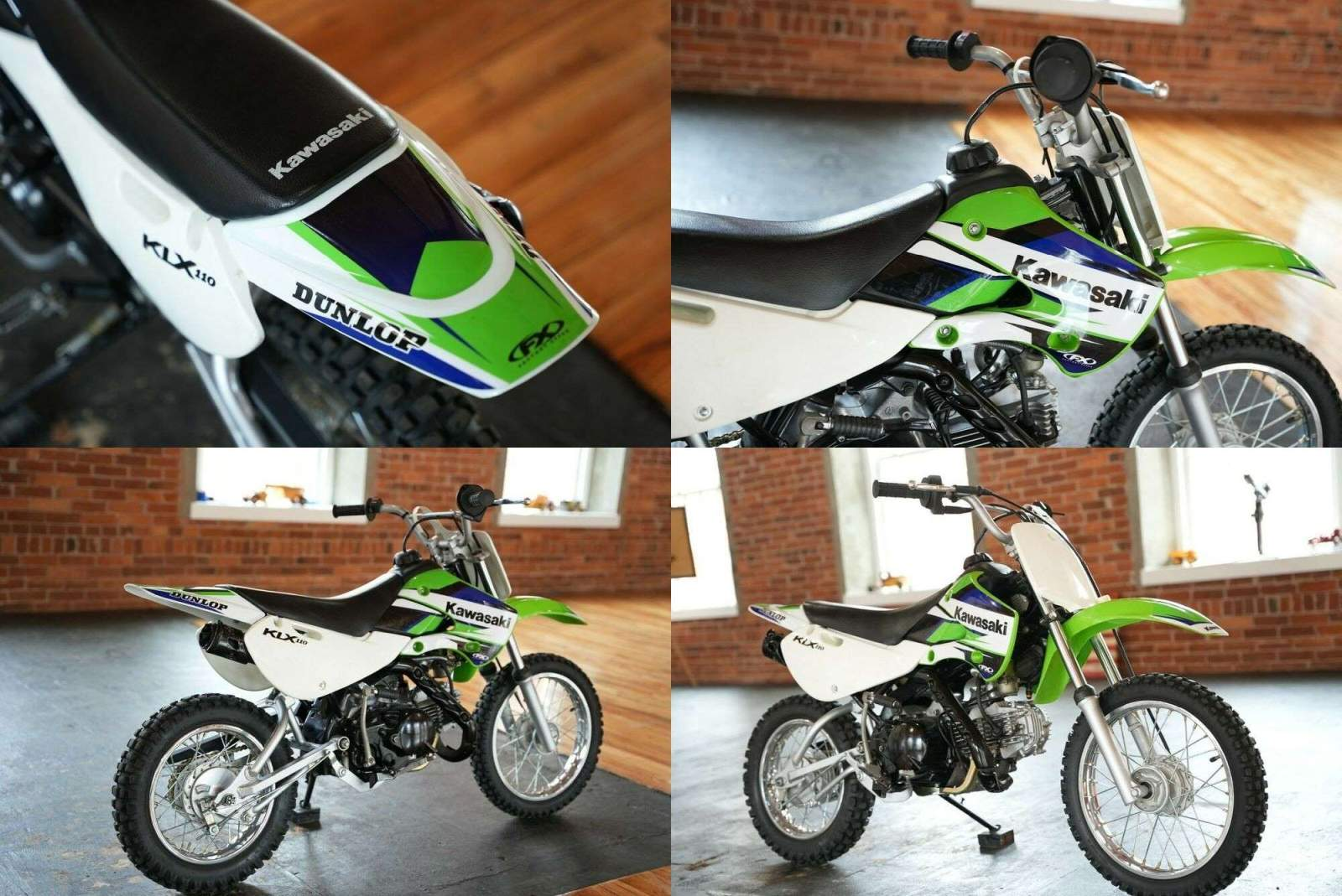 2003 Kawasaki KLX Green used for sale