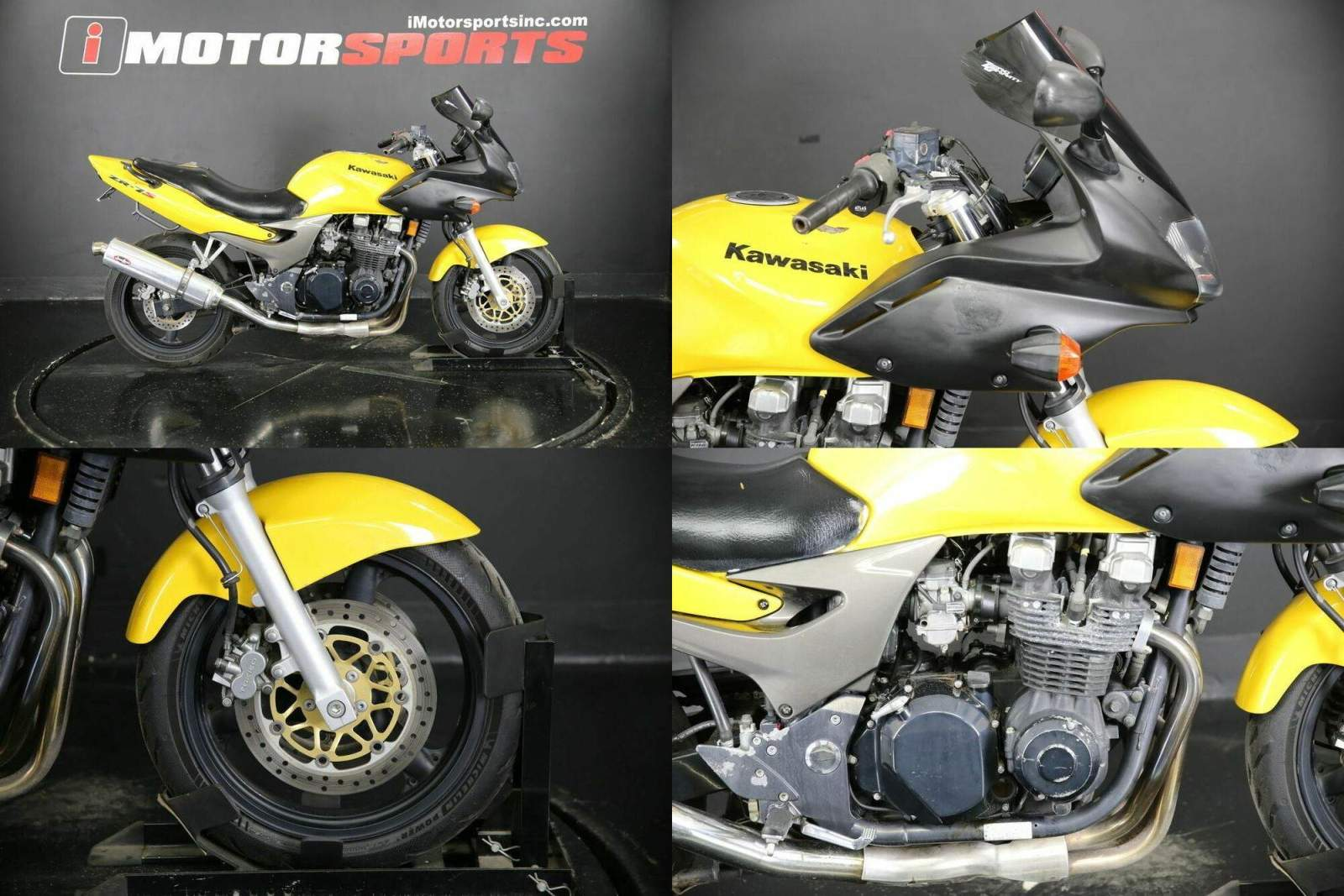 2003 Kawasaki ZR7-S Yellow used for sale near me