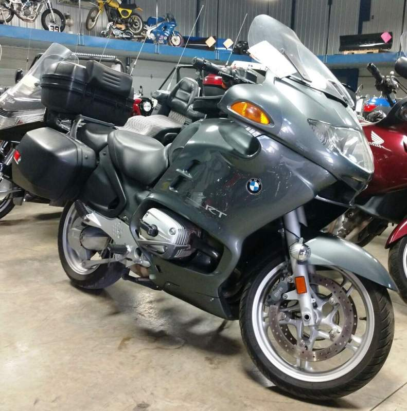 2004 BMW R 1150 RT (ABS) Gray used for sale near me