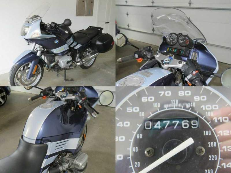 2004 BMW R-Series Blue used for sale craigslist