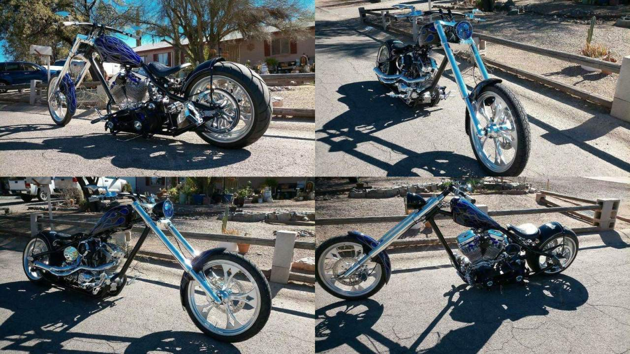 2004 Custom Built Motorcycles Chopper Black used for sale near me