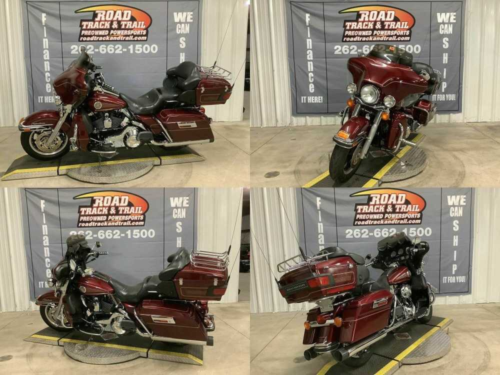 2004 Harley-Davidson FLHTCUI - Electra Glide® Ultra Classic® Red used for sale craigslist