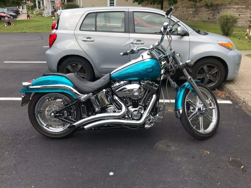 2004 Harley-Davidson Softail Teal used for sale