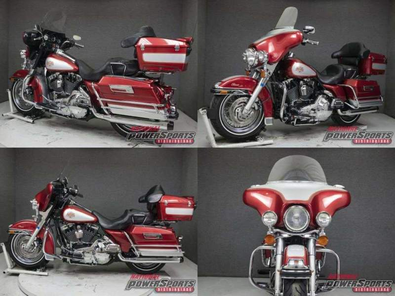 2004 Harley-Davidson Touring SIERRA RED/BRILLIANT SILVER used for sale