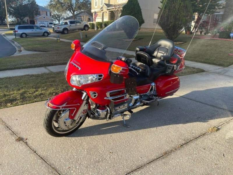 2004 Honda Gold Wing Red used for sale near me