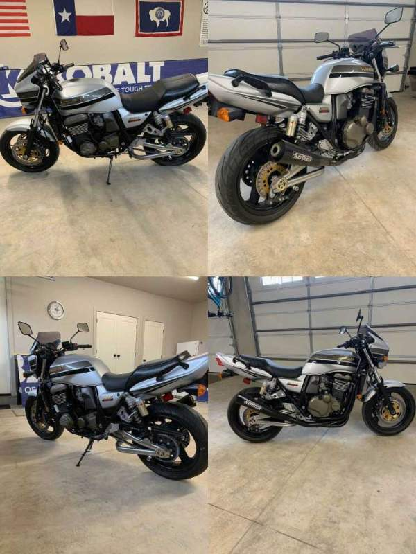 2004 Kawasaki ZRX 1200 R Silver used for sale craigslist