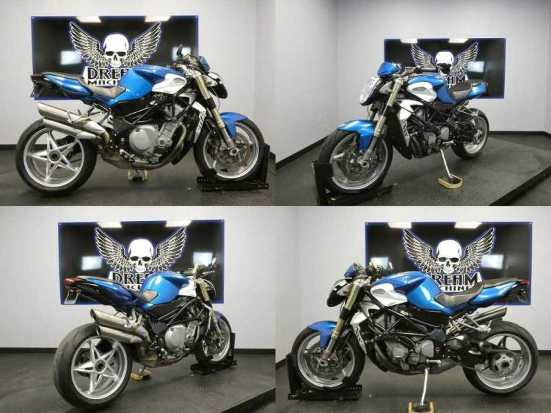 2004 MV Agusta BRUTALE 750 S Blue used for sale craigslist