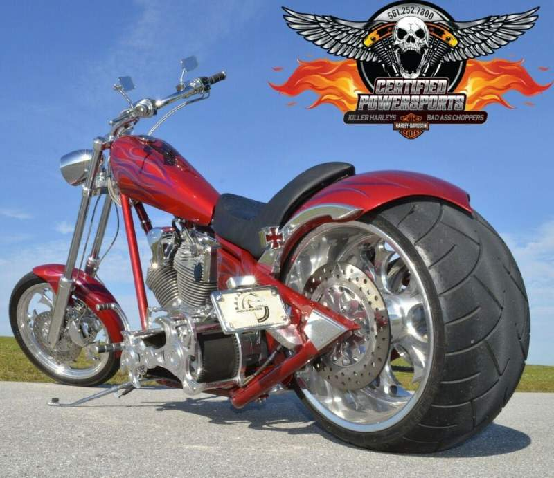 2005 American Ironhorse 280 LSC LONE STAR CHOPPER * 721 MILES * MINT COND! Red Wine Pearl Base Paint With Ghosted Flames used for sale craigslist