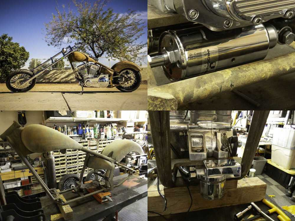 2005 Custom Built Motorcycles Chopper patina used for sale craigslist