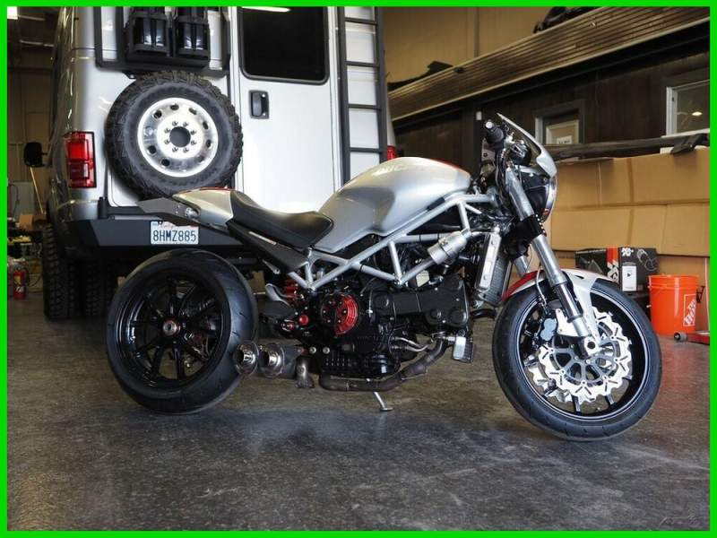 2005 Ducati Monster S4R Silver used for sale craigslist