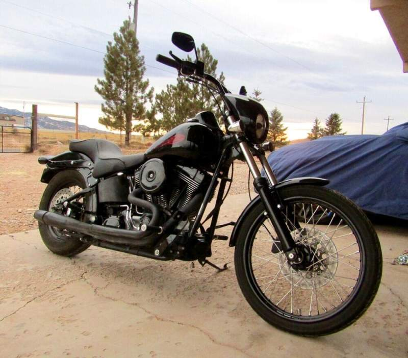 2005 Harley-Davidson Softail Black used for sale craigslist