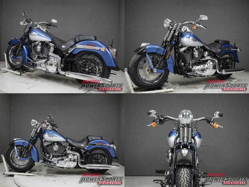 2005 Harley-Davidson Softail CHOPPER BLUE/BRILLIANT SILVER used for sale craigslist
