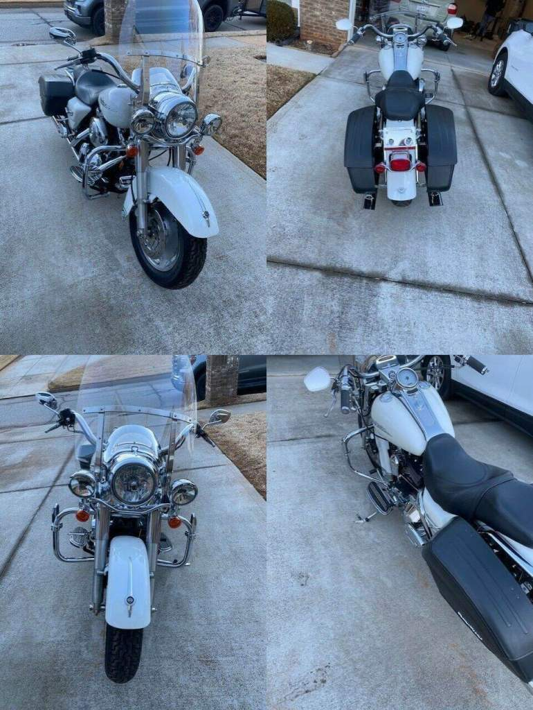 2005 Harley-Davidson Touring White used for sale