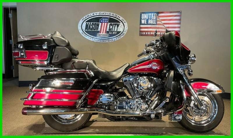 2005 Harley-Davidson Touring Electra Glide® Ultra Classic® Lava Red & Vivid Black used for sale near me