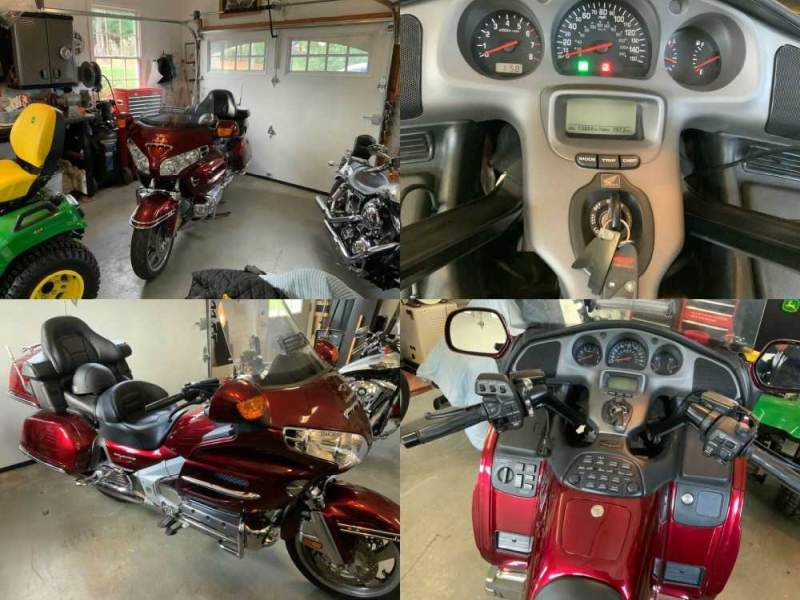 2005 Honda Gold Wing Red used for sale