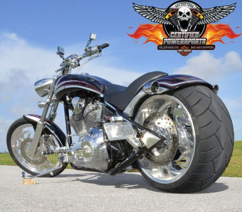 2006 American Ironhorse 280 TEJAS PROSTREET CHOPPER 2,973 Mi FREE SHIPPING Vivid Black Paint with Silver Pearl Graphics used for sale near me