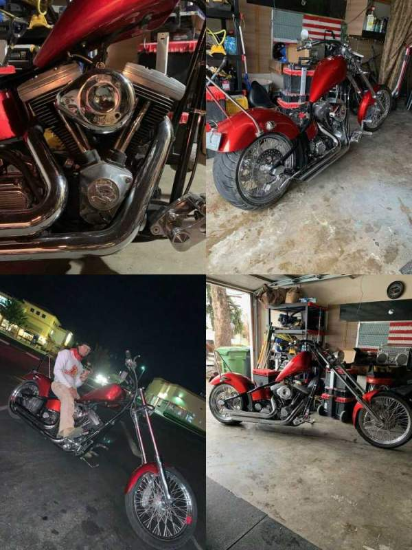 2006 Custom Built Motorcycles Chopper Red used for sale near me
