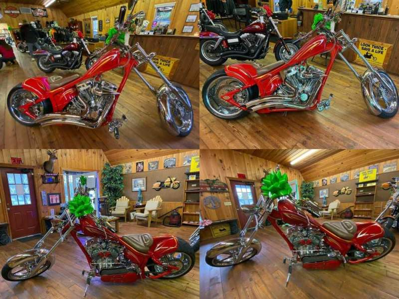 2006 Custom Built Motorcycles Chopper Red used for sale