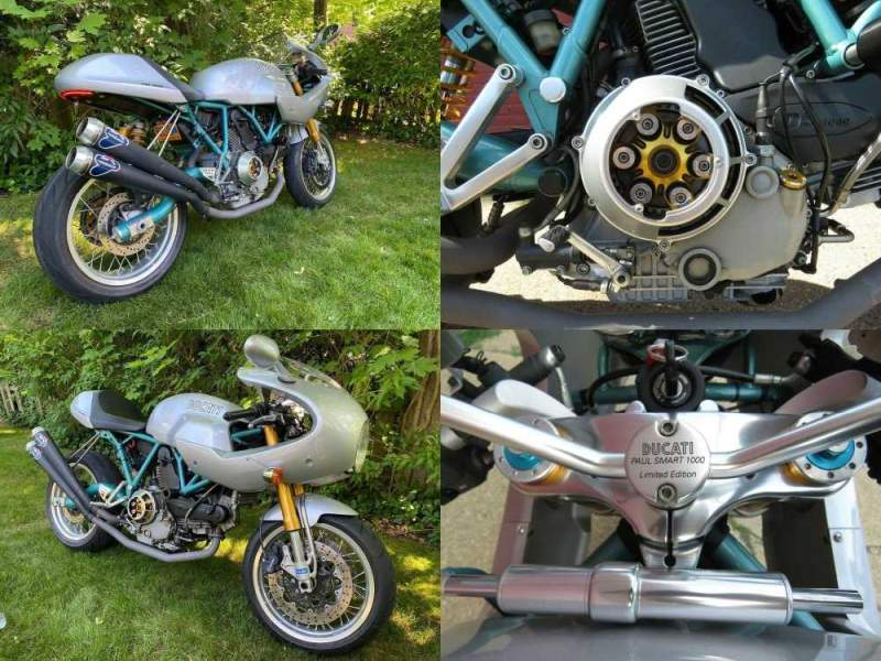 2006 Ducati Paul Smart 1000 Limited Edition Silver used for sale craigslist