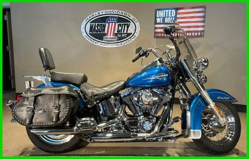 2006 Harley-Davidson Softail Heritage Softail® Classic Blue Sunglo used for sale
